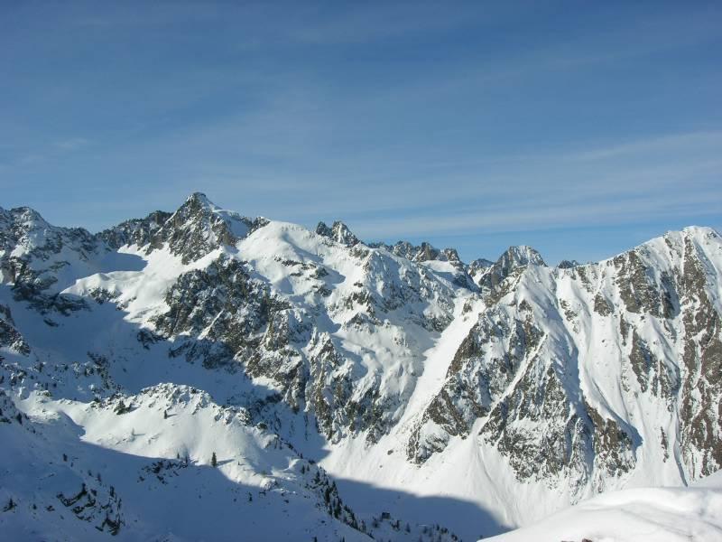 ..dalla cima verso l'Ischiator..foto m.conti