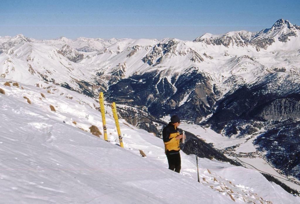 sulla destra il Pic de Rochebrune