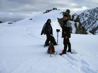 Luca e Giorgio al Passo delle Scolettas (30-12-2007)
