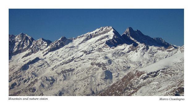 Il gruppo delle Levanne dalla cima della Bellavarda