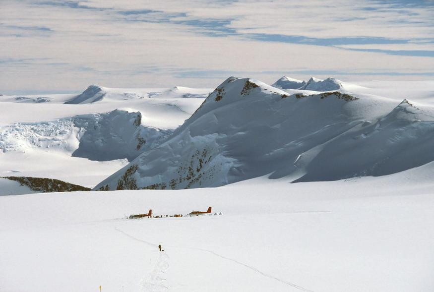 Vinson (Mount) Via normale versante W 2008-01-16