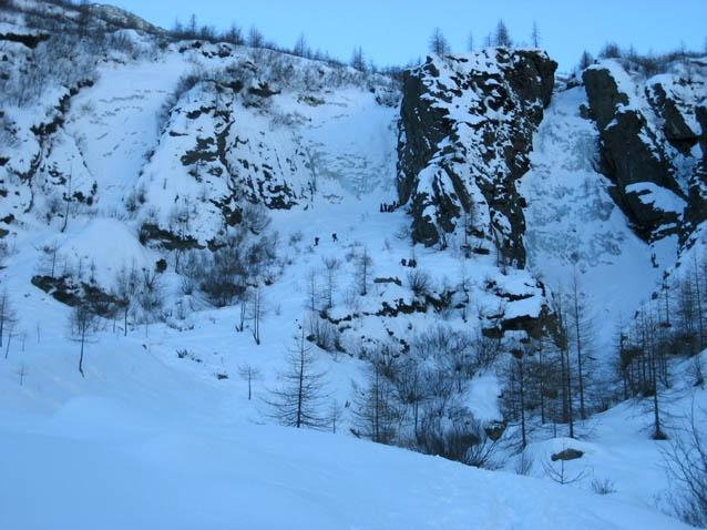 Le cascate oggi 20 gennaio 2008