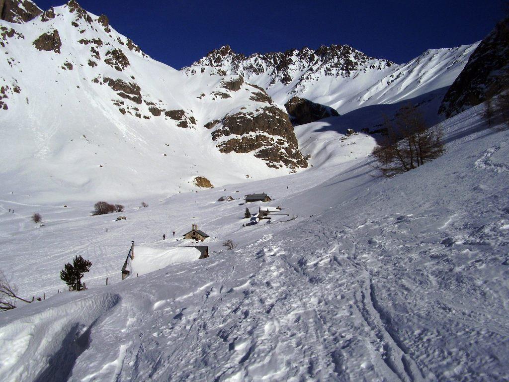 Lauzette (Col de Aiguillette de) da le Pont de l'Alpe 2008-01-20
