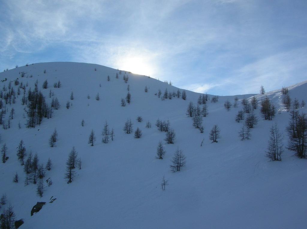 La cima del Mont Pussuy (2218m).
