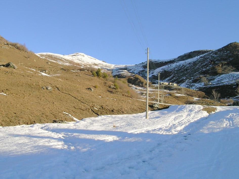 Appena sopra l'alpe Vinassa: sembra che marchi male..