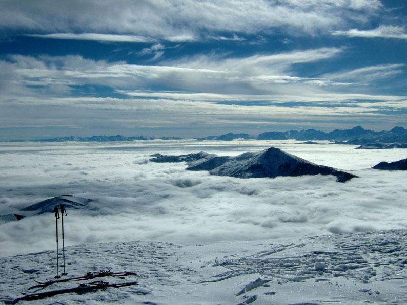 veduta verso il monte Birrone, val Varaita