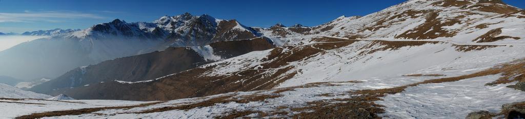 Panorama sulle montagne di Condove