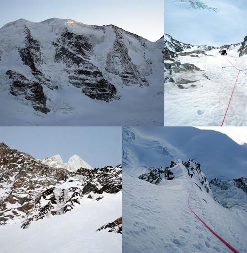 Palù (Piz) Parete Nord - Ovest tra la Zippert e la Corti 2008-02-10