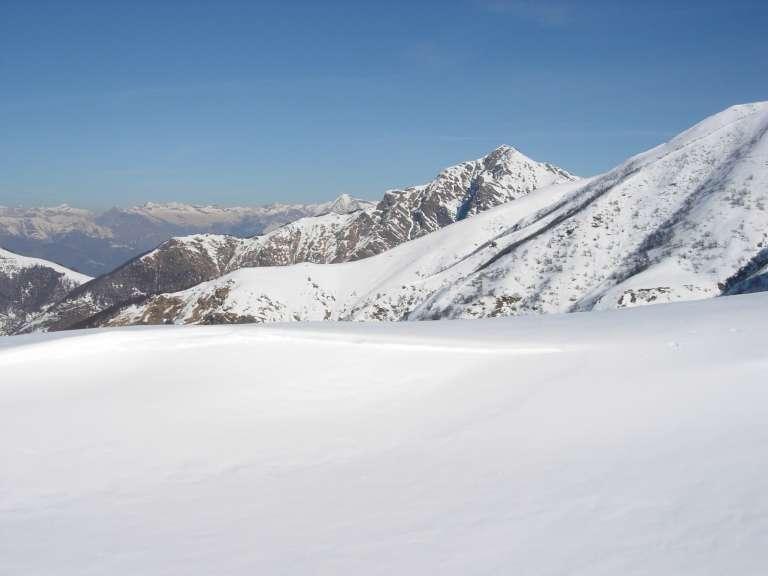 Il Monte Tamaro dallo stesso punto