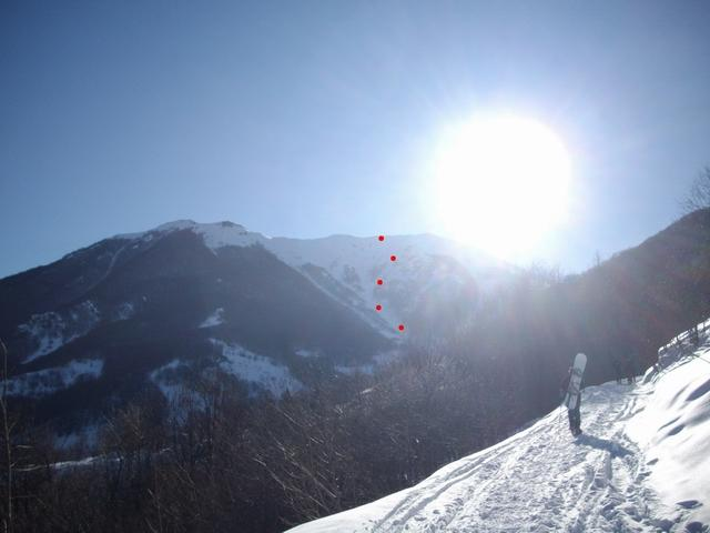 Vecchio (Monte) Canalone N 2008-02-10
