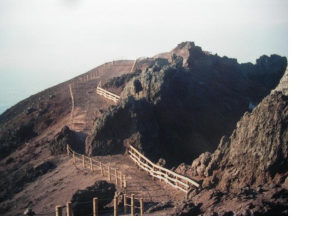 Vesuvio Periplo della bocca del cratere 2008-02-10