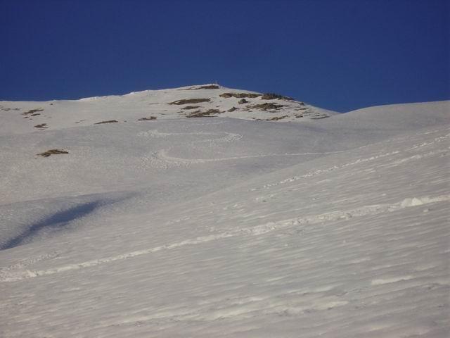 Cima di Crosa vista dalla Val Varaita