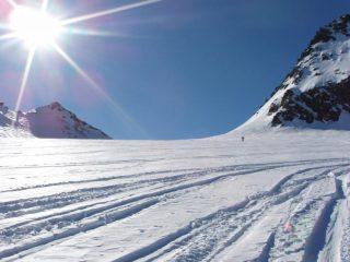 La magia del ghiacciaio del Ruitor