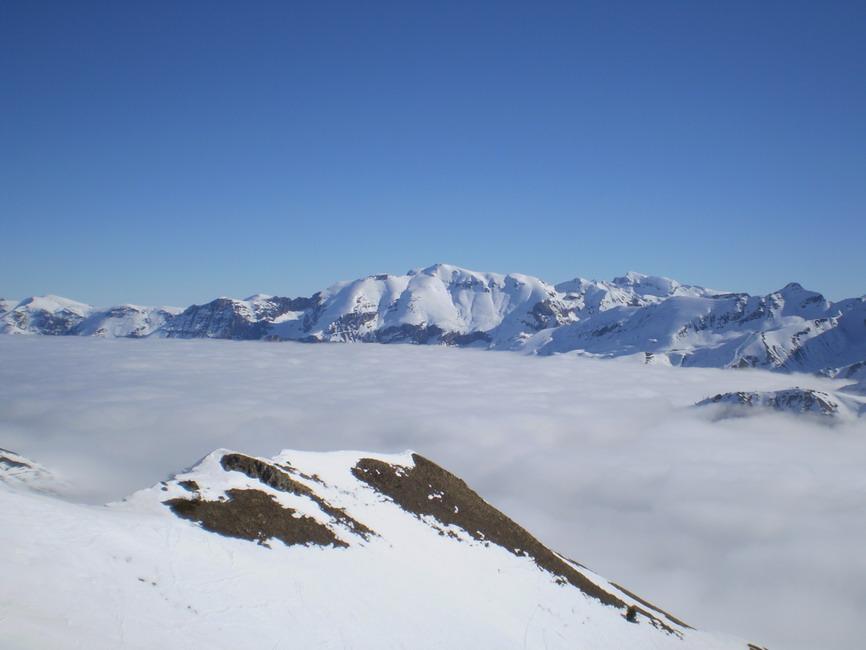 Un mare di nubi...