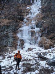 la prima cascata (parte bassa)