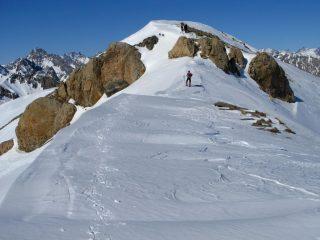 sull'anticima del Monte Bodoira