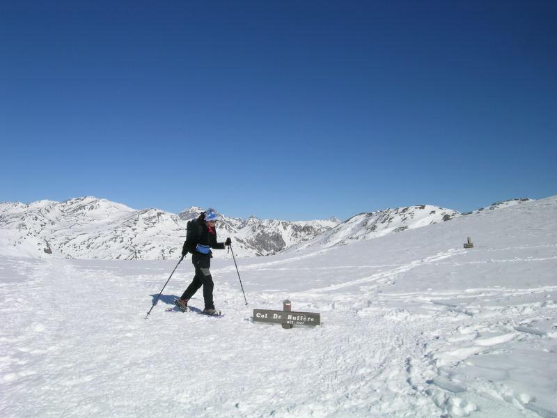 Parecchia neve al Col de Buffere...