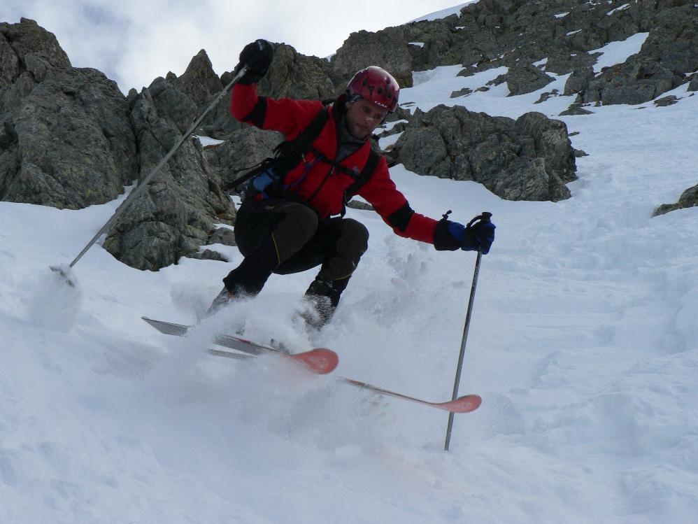sti c... li era dura uscire con gli sci e staccare un virage