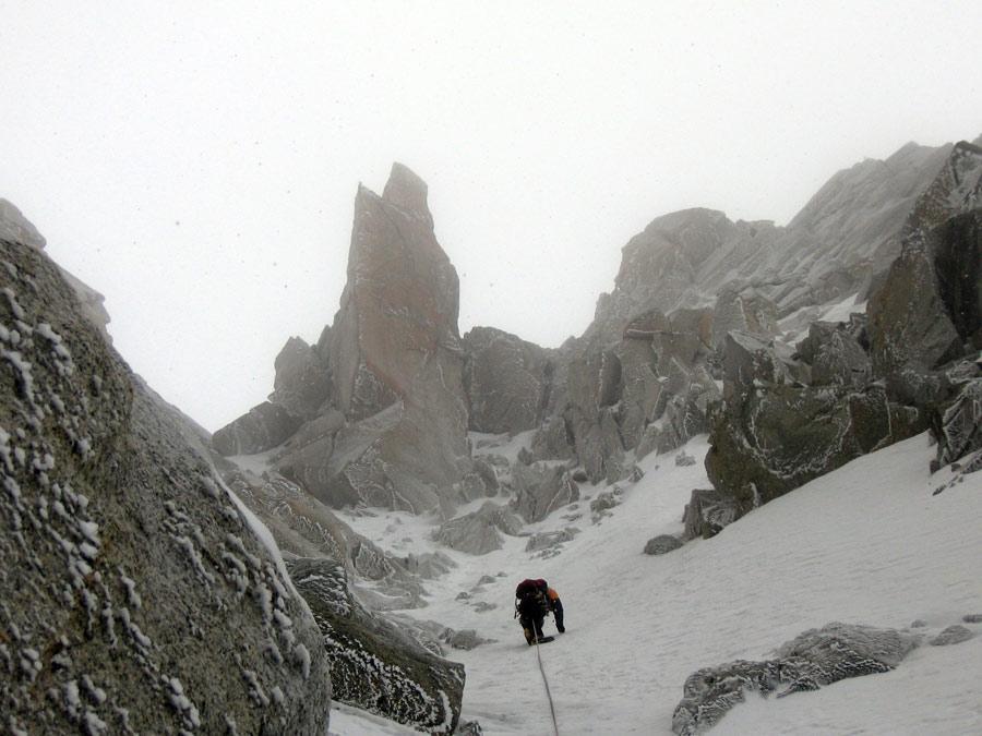 Midi (Aiguille du) Burnier-Vogler 2008-02-28