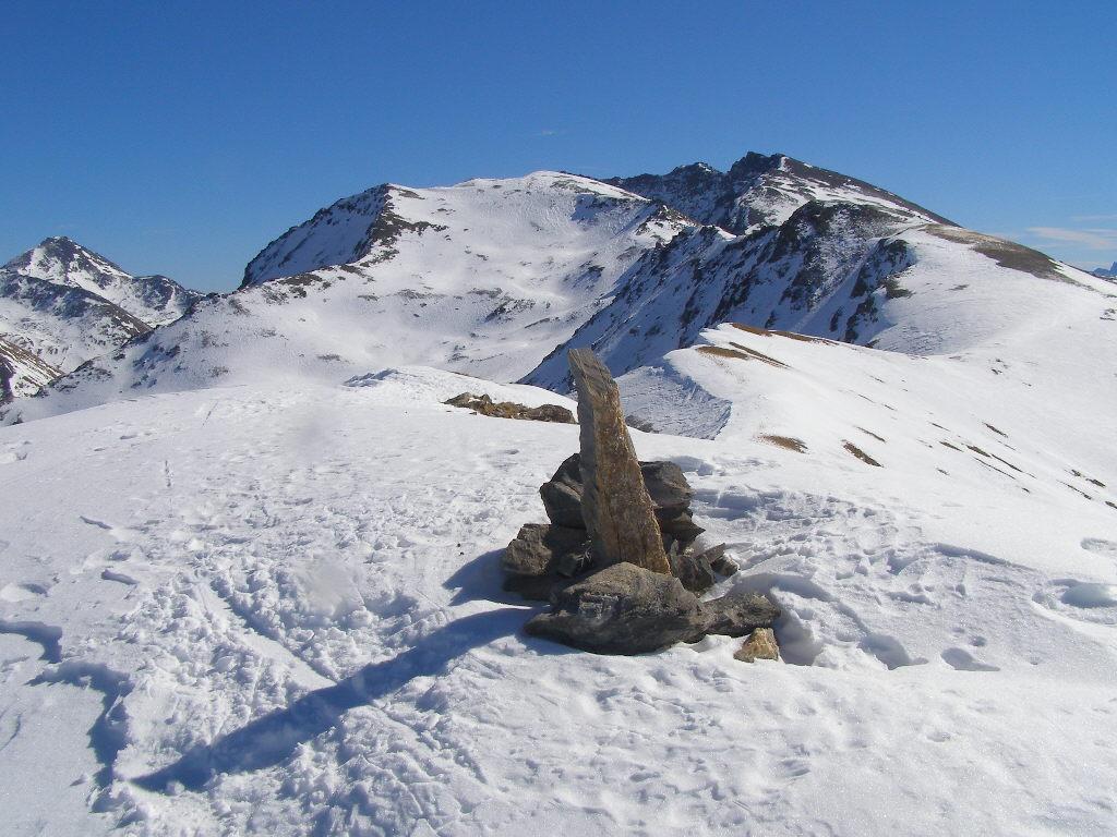 Dalla vera cima della Dormillouse, 2945 m.