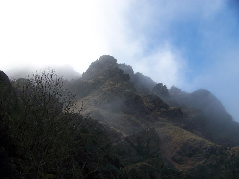 Pigheuggiu (Monte) da Crevari, anello per il Passo della Gava 2008-03-02