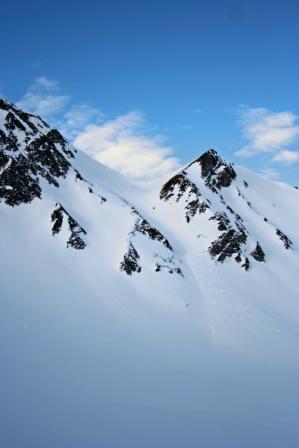 Grandinagia (Punta) da All'Acqua per la val Cavagnolo 2008-03-08