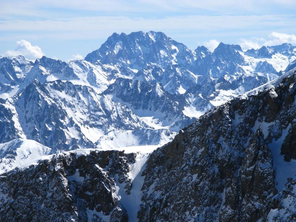 panorami dalla cima : Gruppo dell'Argentera (16-3-2008)