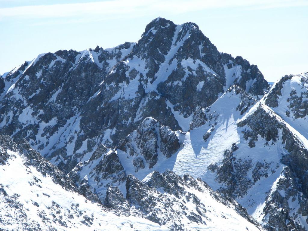 panorami dalla cima : Punta Gioffredo m. 2960 (16-3-2008)
