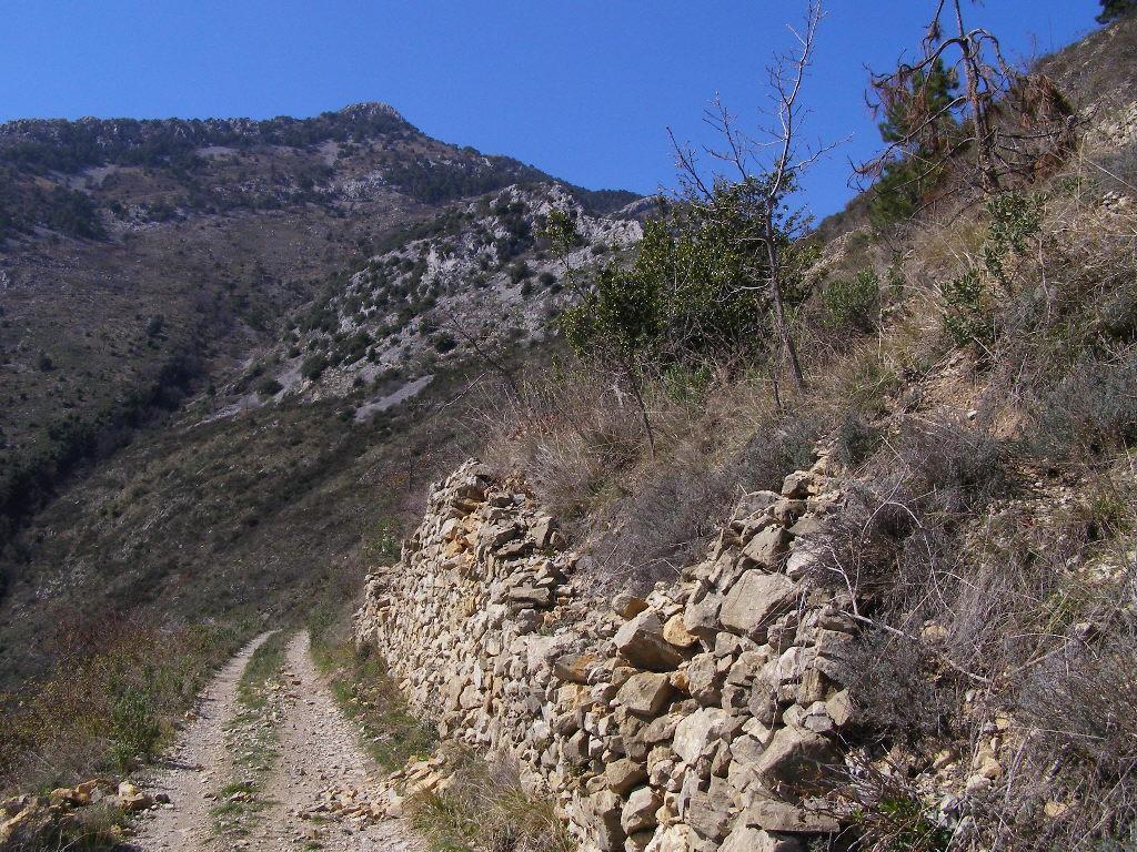 Grammondo o Gramondo (Monte) da Calvo, giro Val Roya - Val Bevera 2008-03-22
