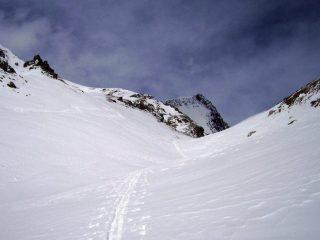 l'arrivo al Col de Nana