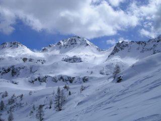 Monte Valegino al centro