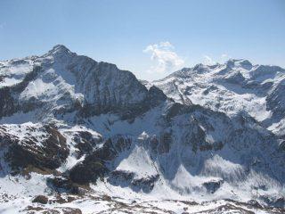 Il Monte Marzo, le Cime delle Chiose ed il Monfandì
