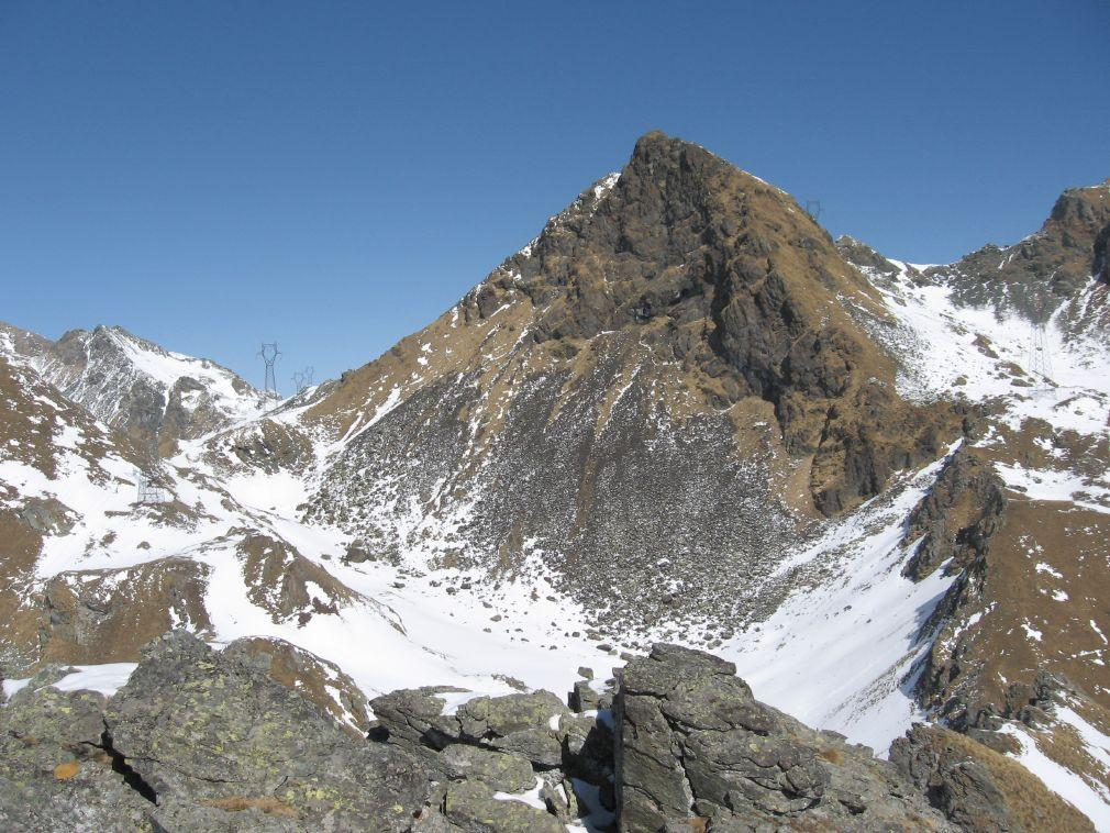Il colle Larissa ed il Monte Nero