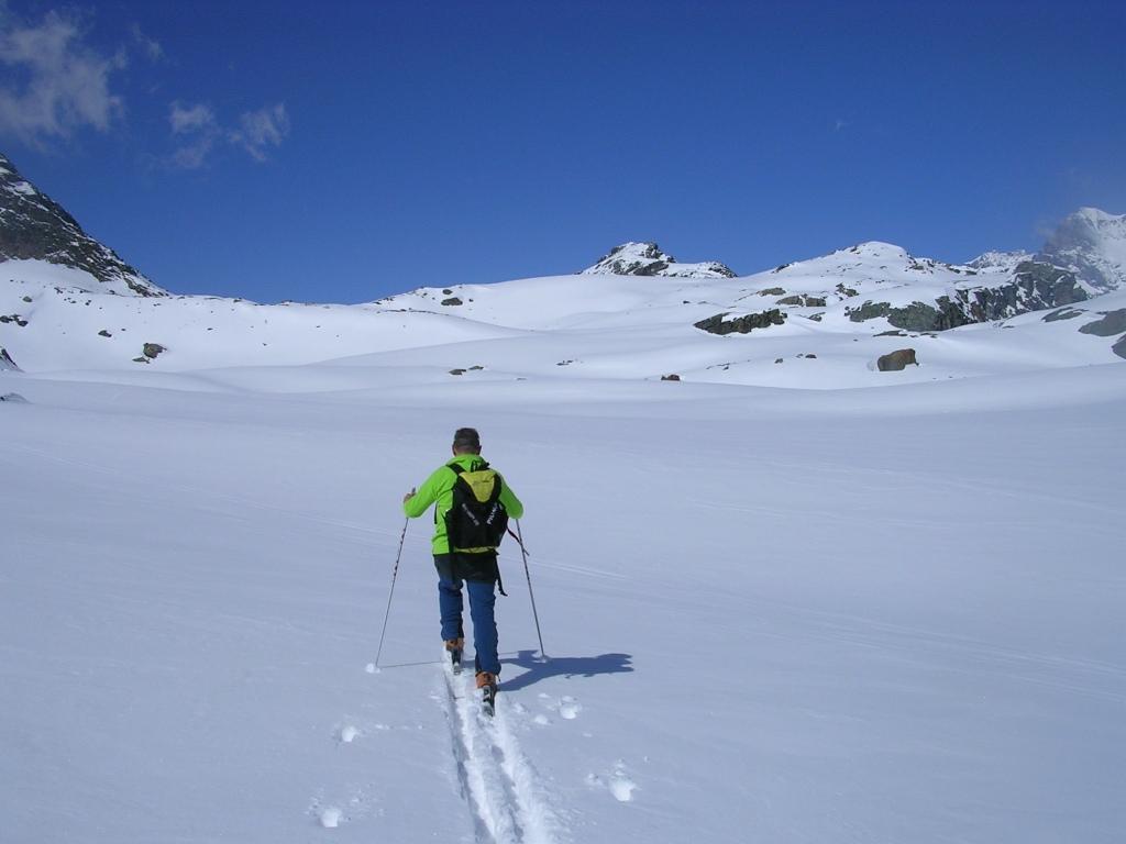 Campagneda (Passo) da Selva di Poshiavo e il Passo Canciano