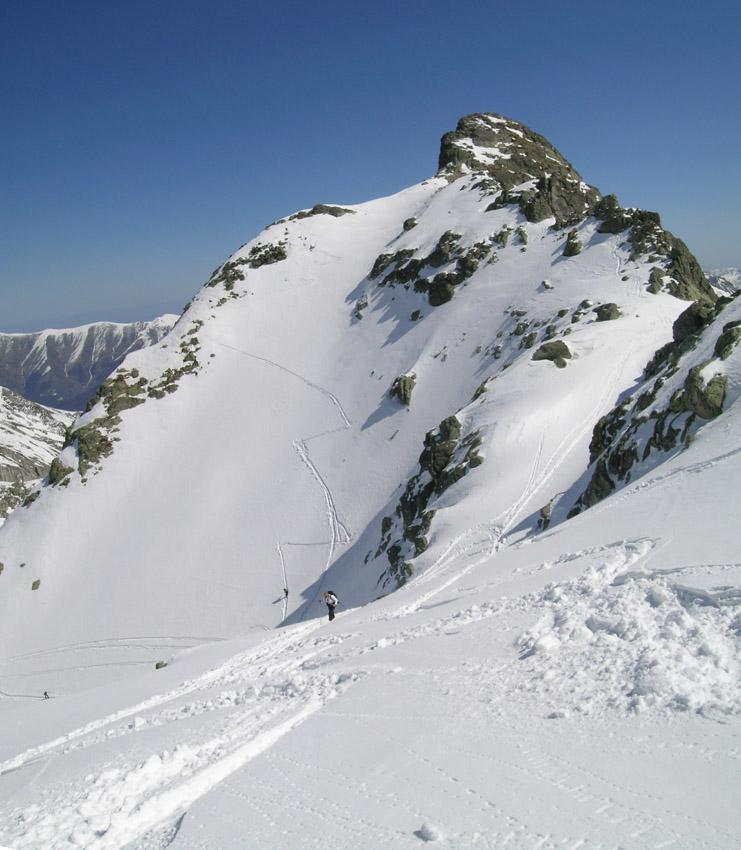 Pendio finale della Rocca Bastera