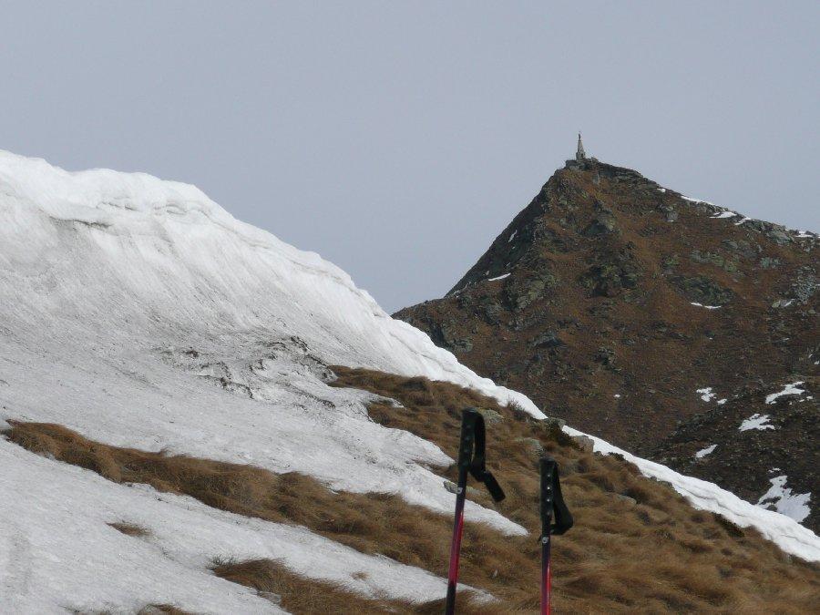 La macchiolina di neve che si vedeva da Ivrea ...
