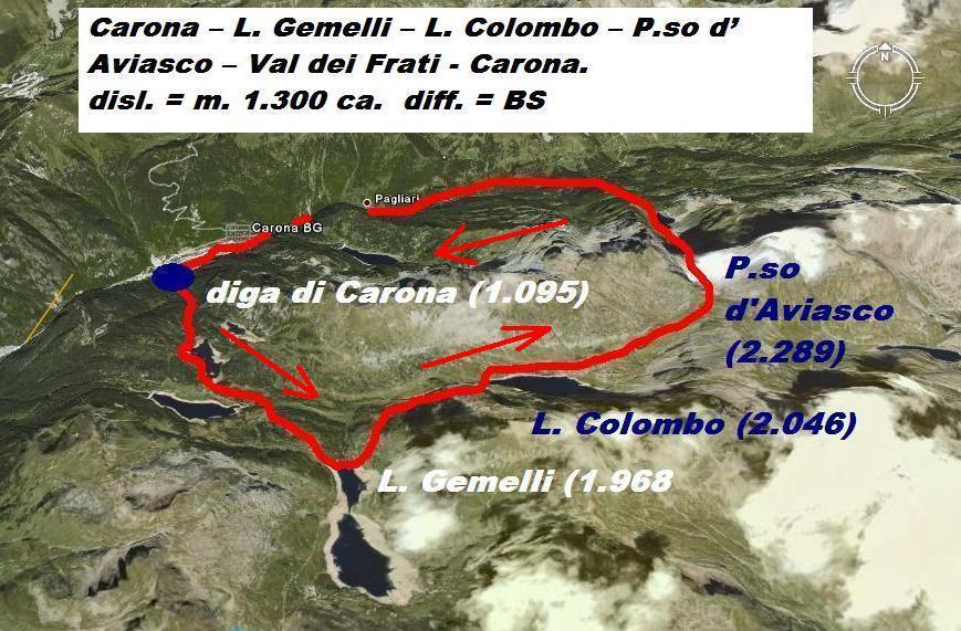 Aviasco (Passo d') per Lago Gemelli e Val dei Frati 2008-04-05