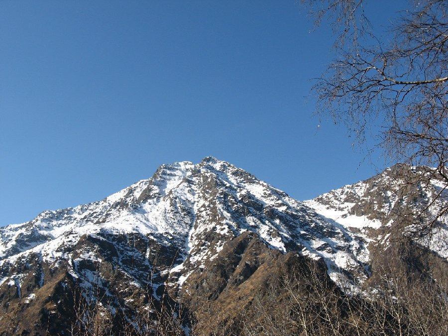 La nord del Barone da alpe Pennino.