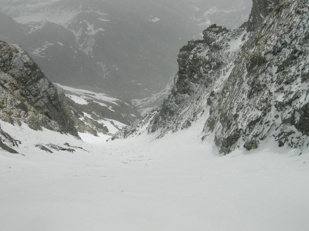 Parte superiore del canale