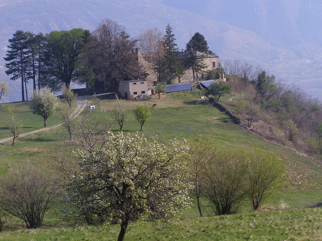 Castel Borello, poco dopo la partenza