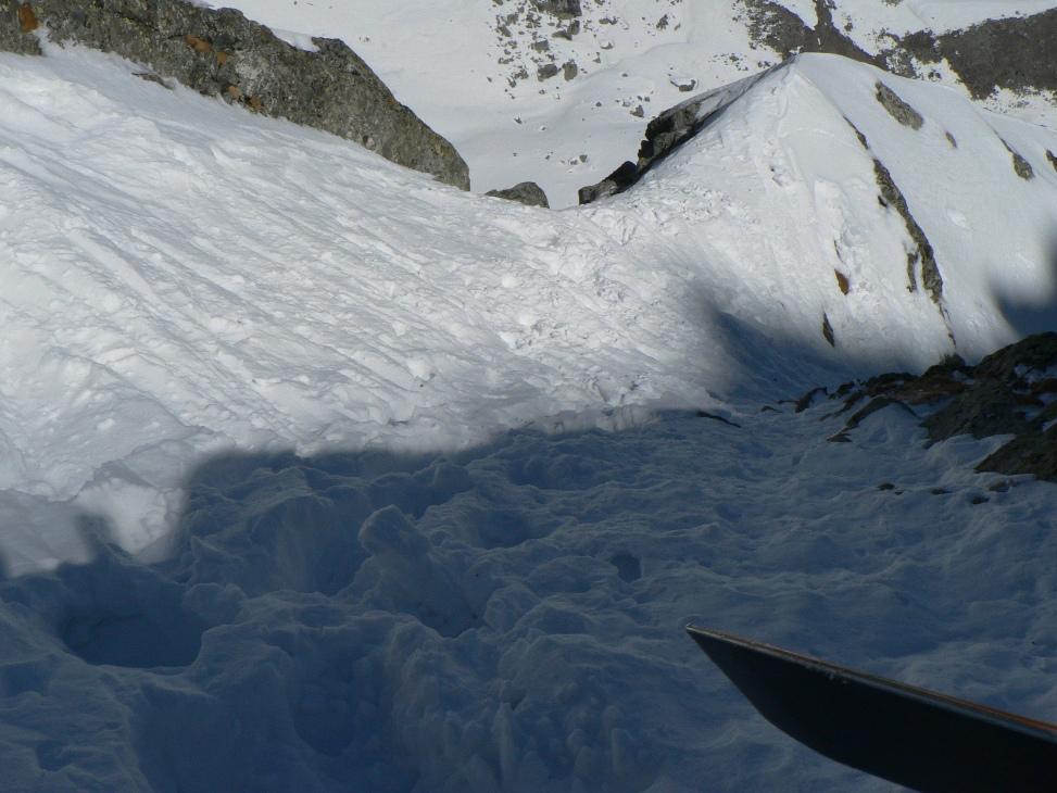 ricalziamo ski dopo tratto di misto