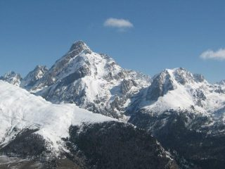 Panorama dal colle