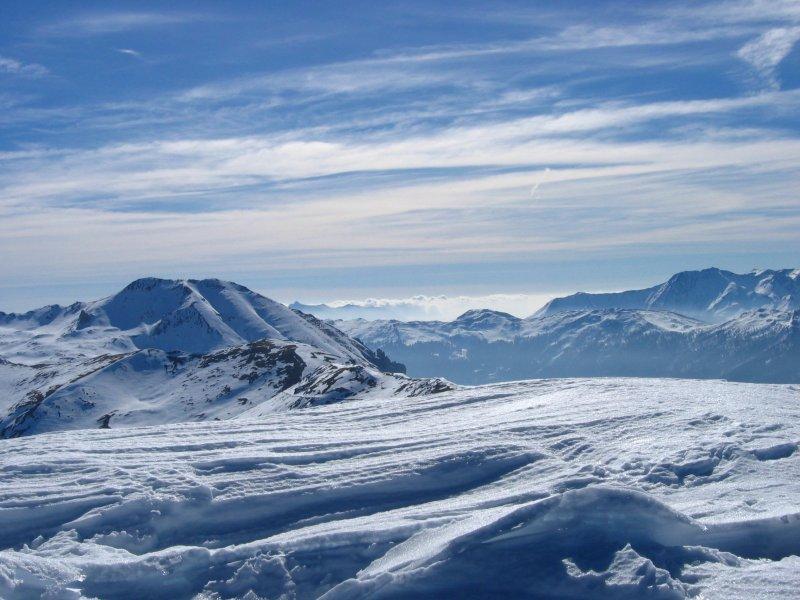 Dalla vetta verso il Monte Seguret