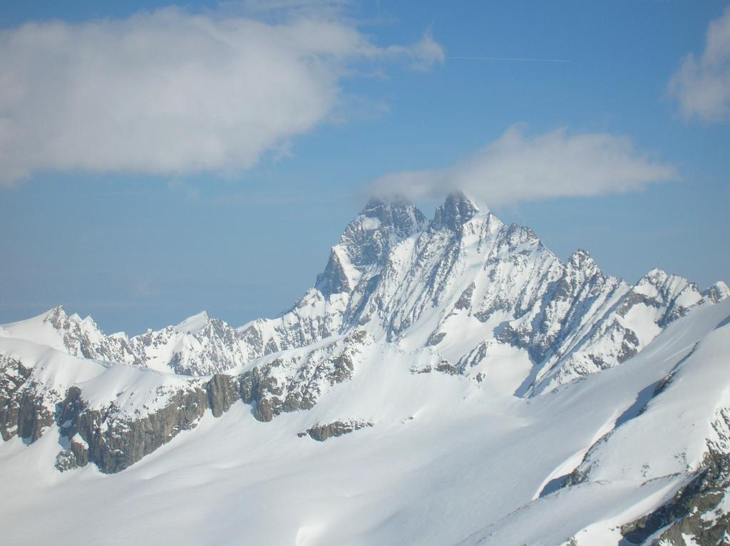 Lo Schreckhorn ed il Lauteraarhorn visti dallla cima del Galmihorn
