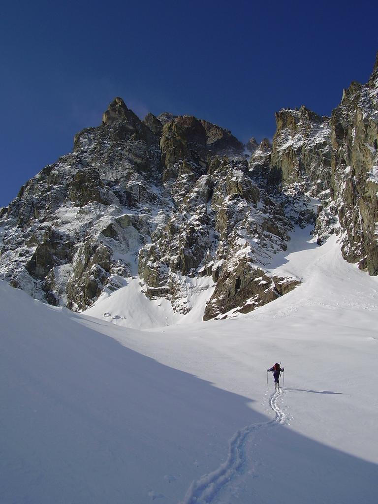 salendo al colle del viso....