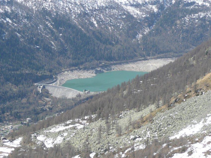 Lago visto dalla Merola.
