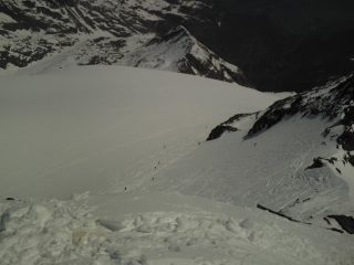 ghiacciaio chateau blanc