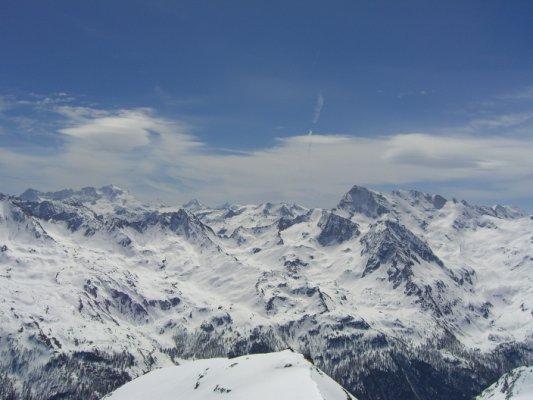 Panorama verso la Gran Rousse