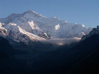 L'alta valle del Kanchen