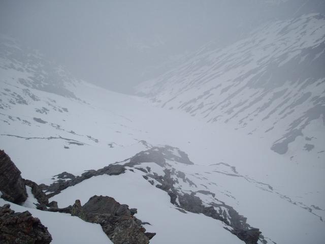in cima nebbie vaganti